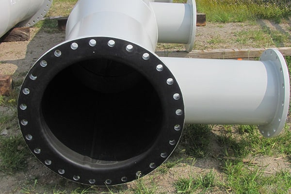Rubber Lined Steel Pipe Photo